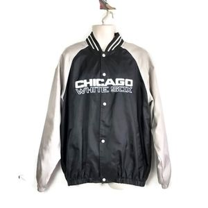 Other - VTG Chicago White Sox Jacket Large Mens Baseball